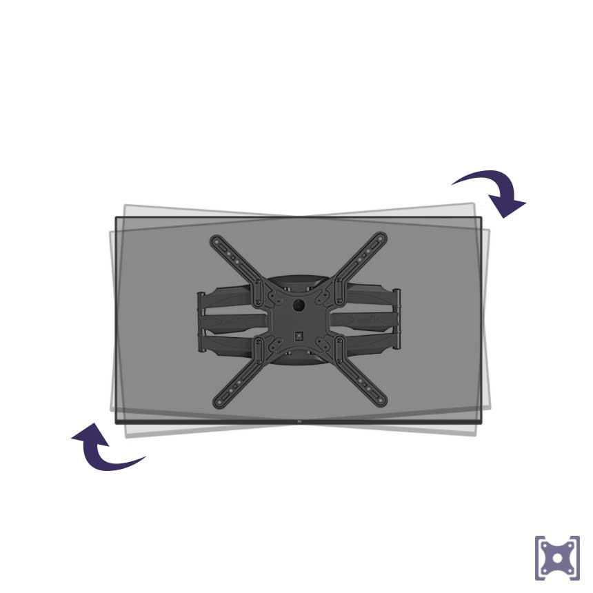 Držák na TV s korekcí roviny SP500/X5