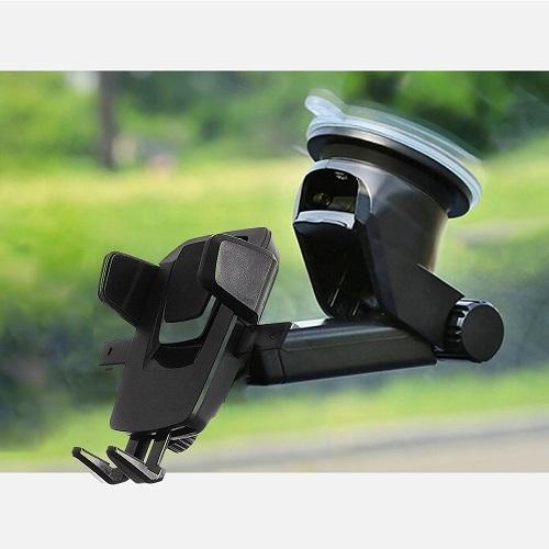 Nastavitelný držák pro mobilní telefon na sklo HS-1206