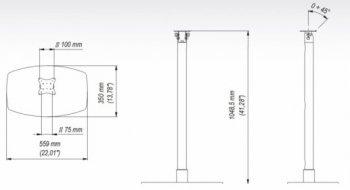 Stojan na LCD Edbak STD04