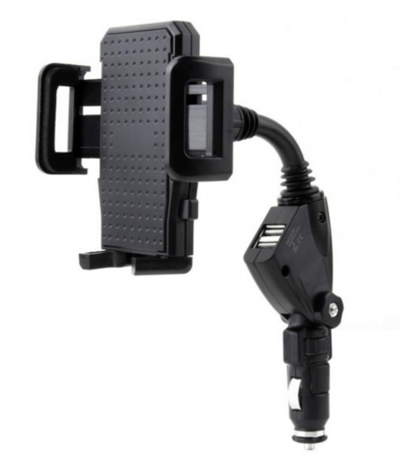 Moderný držiak na mobil do auta do napájania    HS-1701