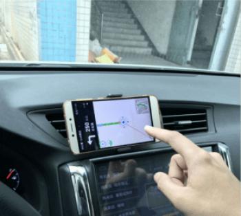 Držiak na mobil do auta do vetracej mriežky HS-1409