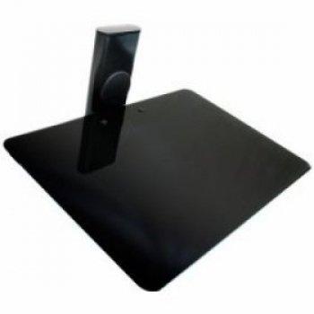Sklenená polička pod televíziu na príslušenstvo OMB GLASS 1