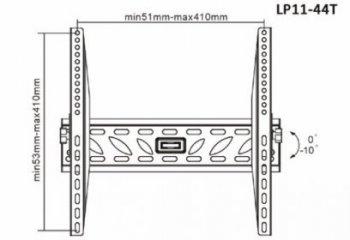 Držiak na televíziu s náklonom Fiber Novelty FN-44T