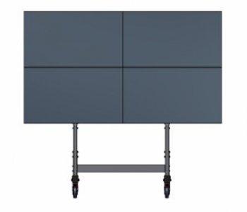 Mobilný stojan pre 4 TV EDBAK VWT-2247-L