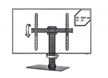 Otočný stolný stojan na TV HS-05