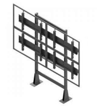 Statická televízna stena 2x2 EDBAK VWS-2247-L