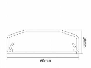 Lišta pro kabely MC-695