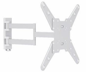 Otočný a sklopný držiak bielej farby FN07-W